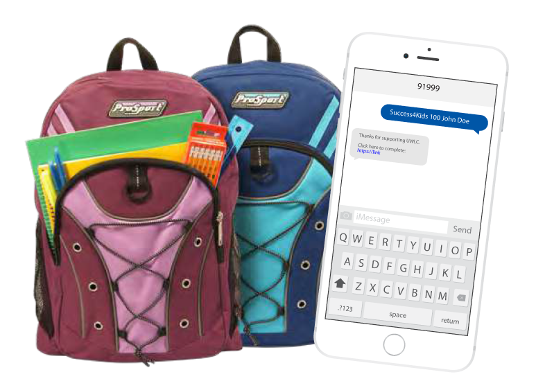 $15 gets a backpack full of supplies for a child in need
